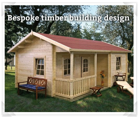 Bespoke timber building service from GardenLife