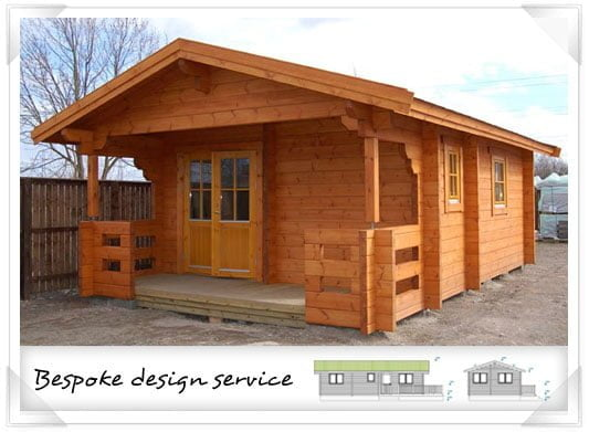 Bespoke timber office building