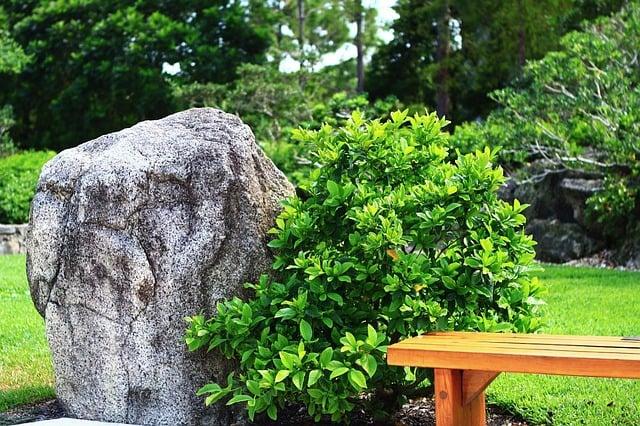 Including a monolith in your garden design