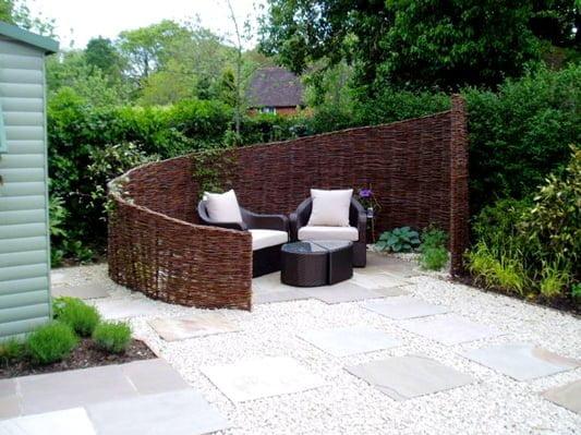 Simple yet beautiful patio design
