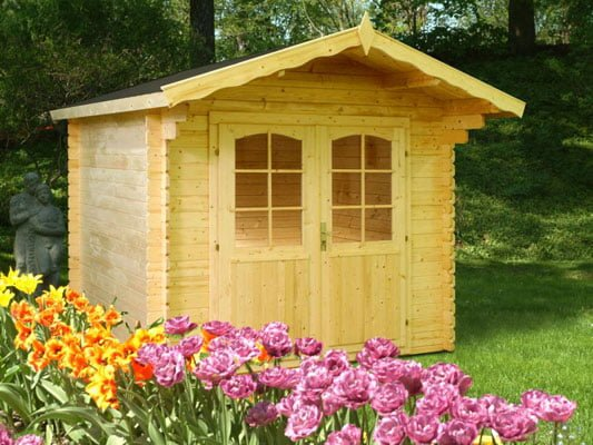 Brook, a lovely posh garden shed