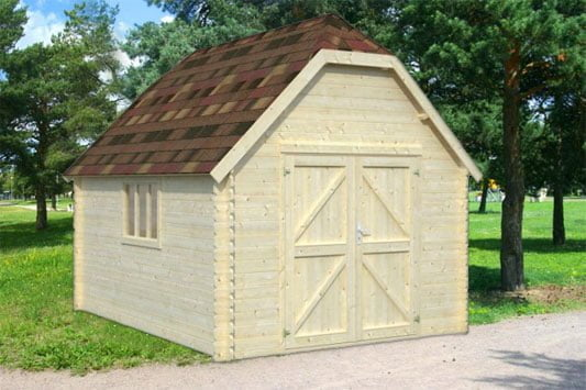 Our Dutch-look posh shed