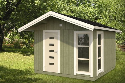 Fiona, the ultimate quick-build posh shed