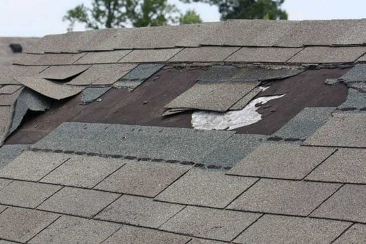 Replacing garden shed shingles and roofing felt