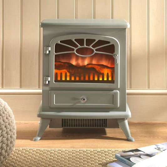 Heat a garden room with an electric stove