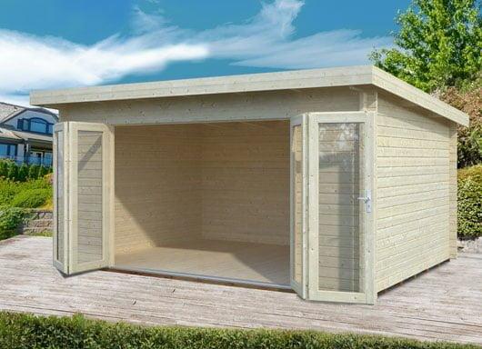 New summer houses with bi-fold doors