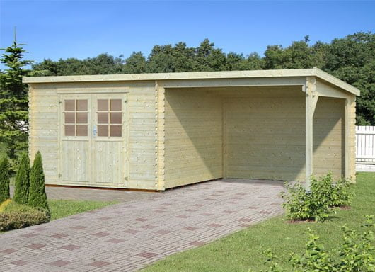 New storage sheds