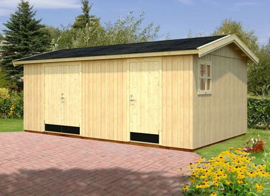New large multi-room garden shed