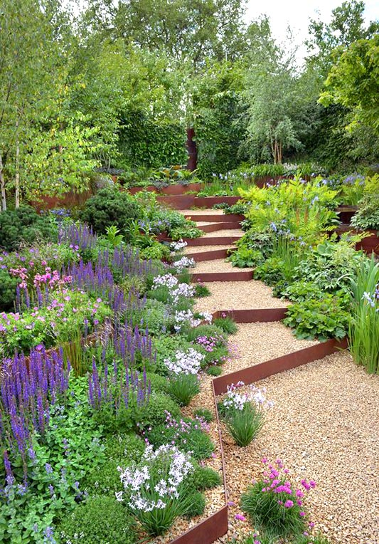 Use planting to improve your hillside garden