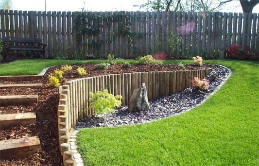 Sloping garden design inspiration