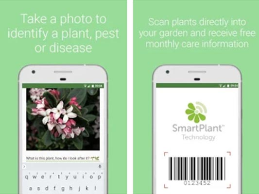SmartPlant (previously called PlantSnapp) gardening app
