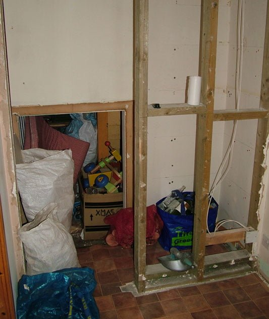 Home extension or self storage
