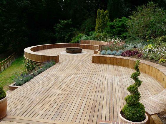 Garden Decking Ideas An Ideal Winter Gardening Project Gardenlife Log Cabins