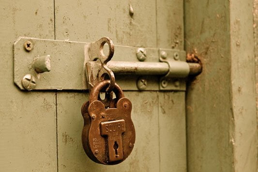 Keep your gates locked!
