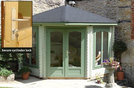 Secure garden outbuildings