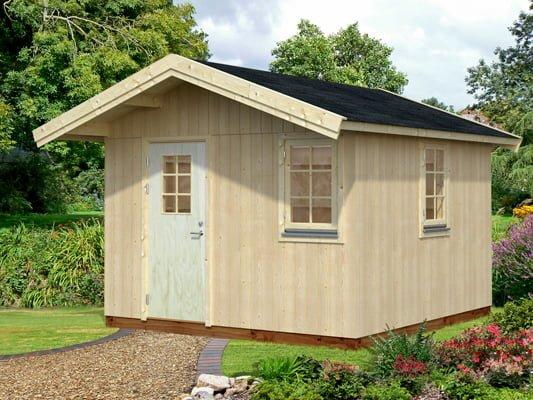 Swedish style garden cabin