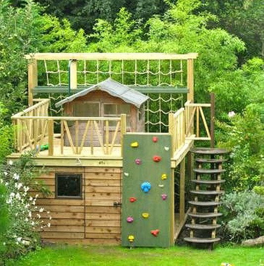 Playhouse ideas - how to build a playhouse for your kids