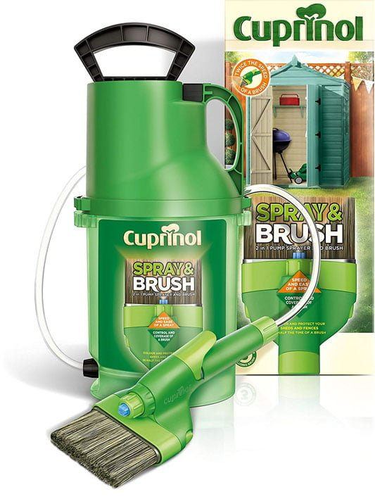 Cuprinol shed and garden fence sprayer