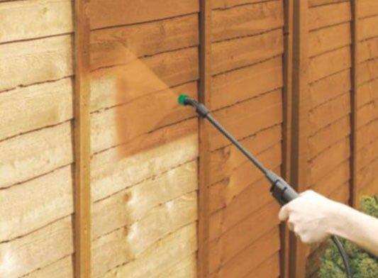 Electric, cordless or manual pump garden fence sprayer?