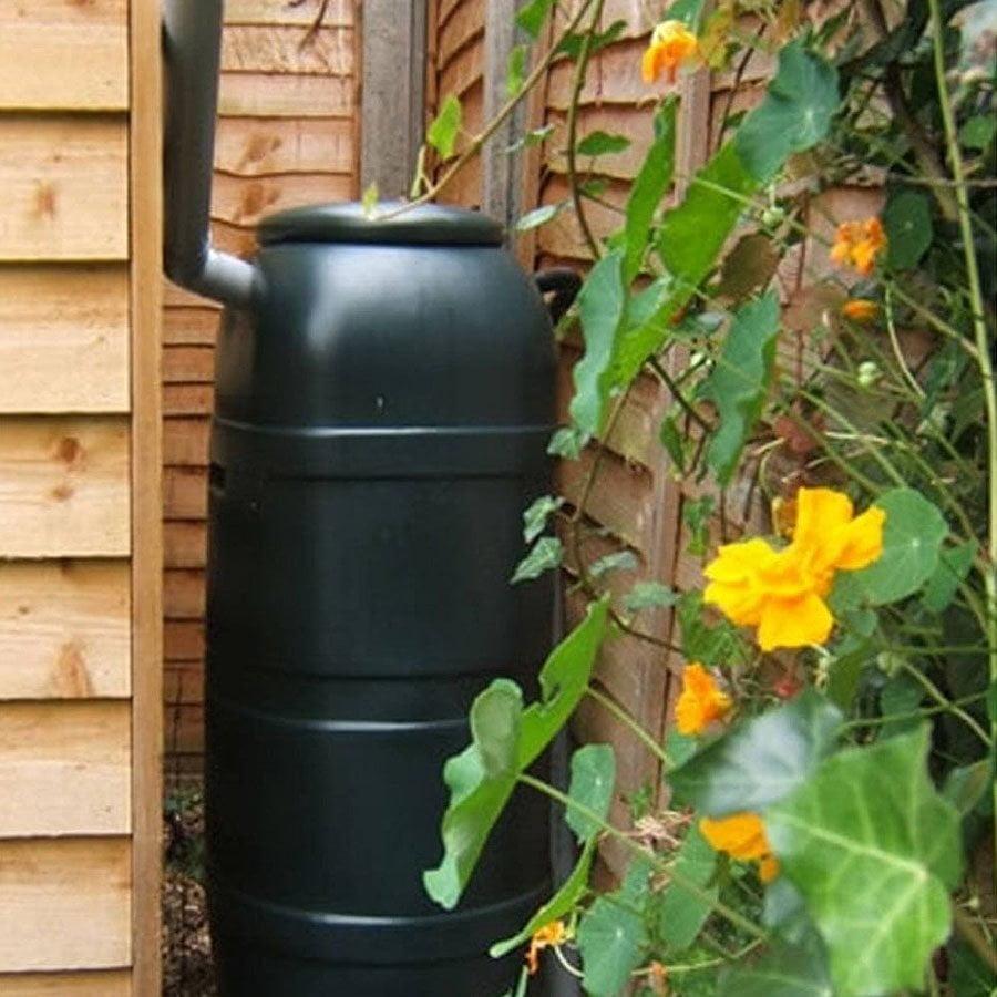 Slimline garden water butt