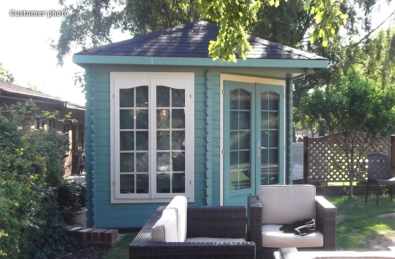 Bold and bright Summer house paint colours