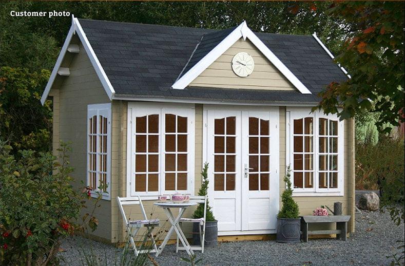 Summer house paint colour