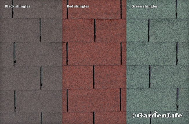 GardenLife Roof Shingles Options