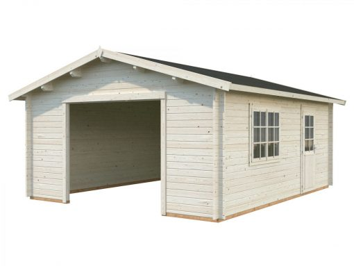 Roger (27.7 sqm) large heavy duty timber single garage