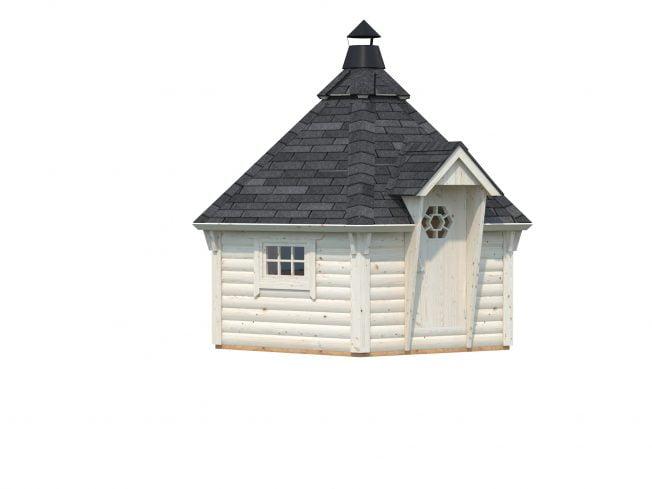Eva (8.7 sqm) small Nordic barbecue hut