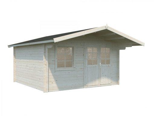 Britta (14.6 sqm) Swiss chalet style garden cabin
