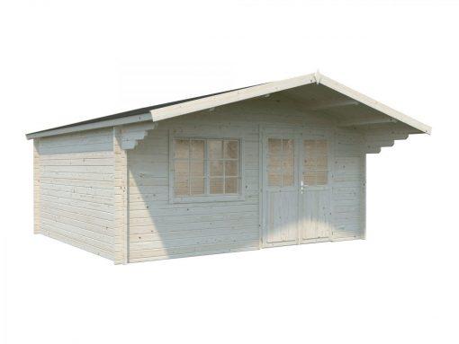 Britta (19.7 sqm) large garden log cabin