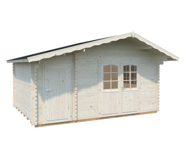 Emma (14.2 sqm) Alpine garden cabin with side storage