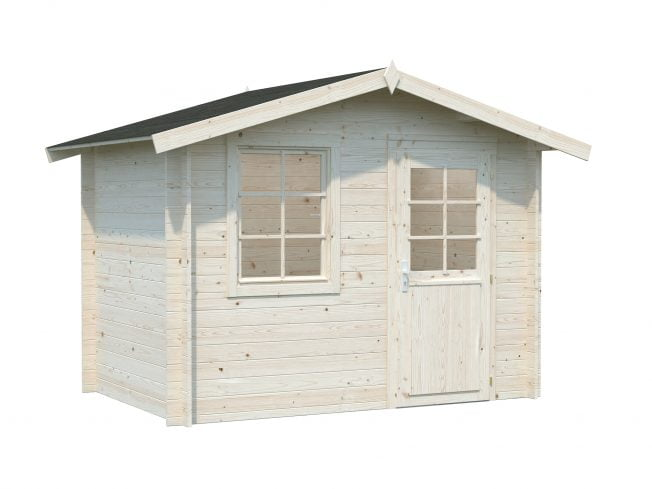 Klara (4.7 sqm) beach hut style garden shed