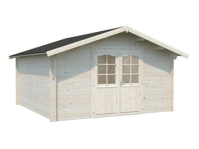 Lotta (13.9 sqm) traditional garden log cabin