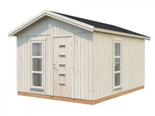 Ly (13.6 sqm) modern timber garden office