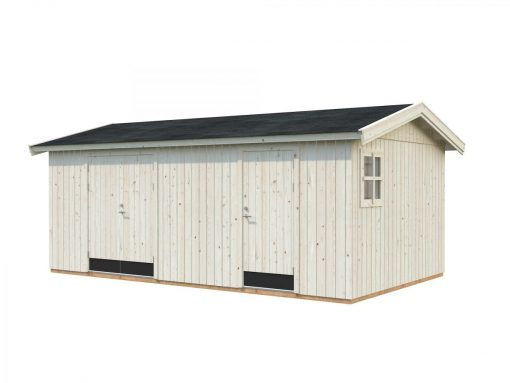 Olaf (16.9 sqm) large two room timber workshop