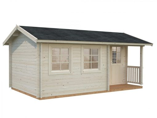 Susanna (12.4 sqm) traditional homestead log cabin