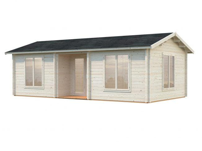Anna (26.8 sqm + 1.9 sqm) spacious timber garden house