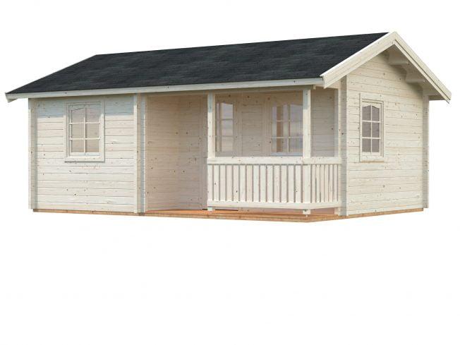 Sandra (21.5 sqm + 3.7 sqm) traditional holiday summer house