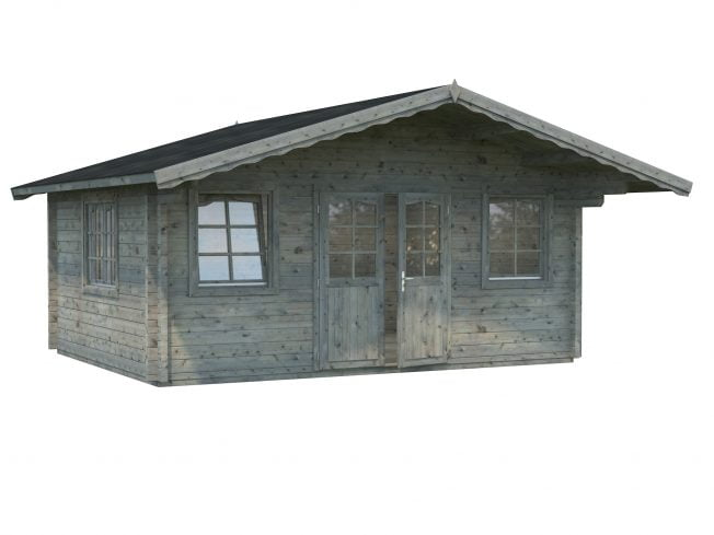 Helena (18.6 sqm) large heavy duty log cabin