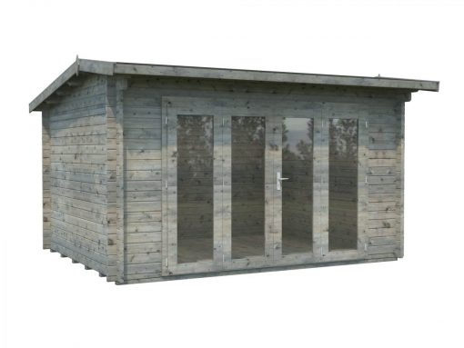 Ines (11.1 sqm) timber sunroom with bi-fold doors