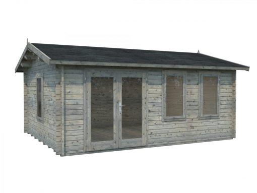 Iris (19.1 sqm) large modern summer house