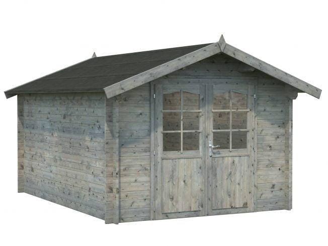 Lotta (10.0 sqm) spacious garden storage cabin