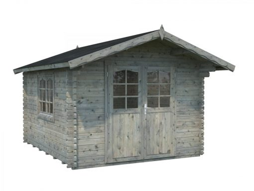 Sally (10.2 sqm) compact Nordic style log cabin