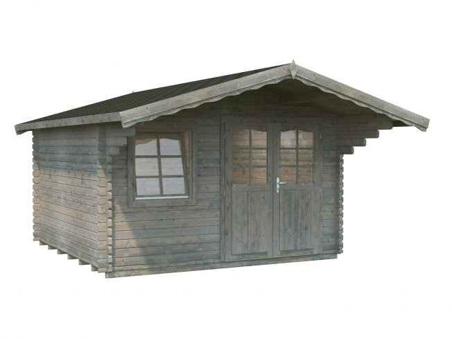 Sally (12.3 sqm) Scandinavian style log cabin