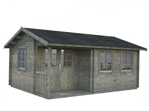 Susanna (16.4 sqm) traditional homestead log cabin