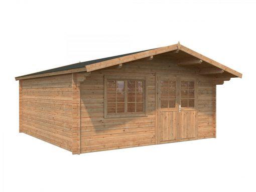 Britta (22.3 sqm) extra large garden log cabin