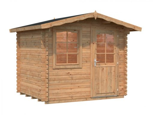 Emma (4.6 sqm) compact Alpine style garden shed