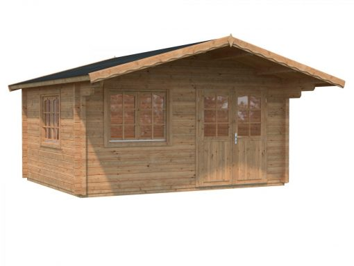 Helena (15.1 sqm) heavy duty garden log cabin