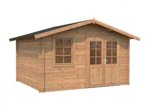 Klara (10.4 sqm) compact garden log cabin